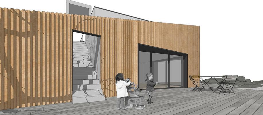 Летняя кухня, проект, дом