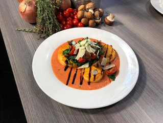 "Chef AriAnkh whips up a creamy polenta dish on ""Virginia This Morning"""