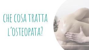 Che cosa tratta l'Osteopata?