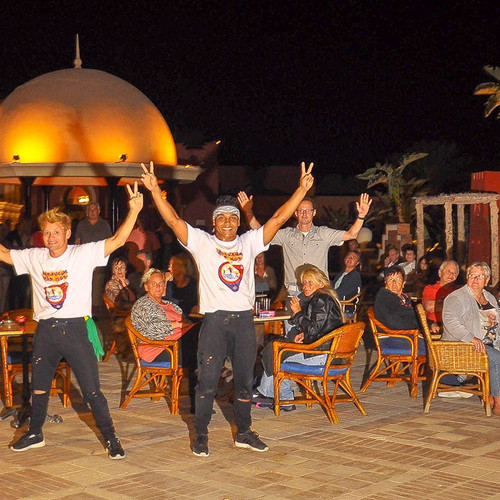 Egypt show time performace for caravana Hip Hop Brazil