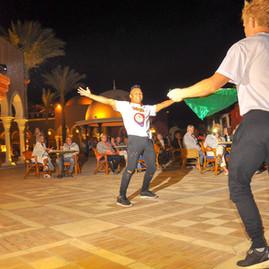 Egypt show time performace for caravana Hip Hop Brazil