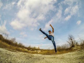 Capoeira style !