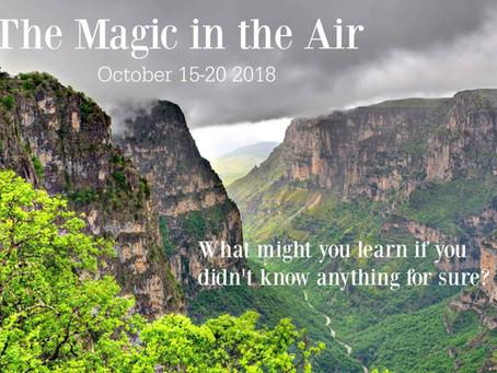 The Magic in the Air Retreat - Zagorochoria, Greece / October 15-20 2018