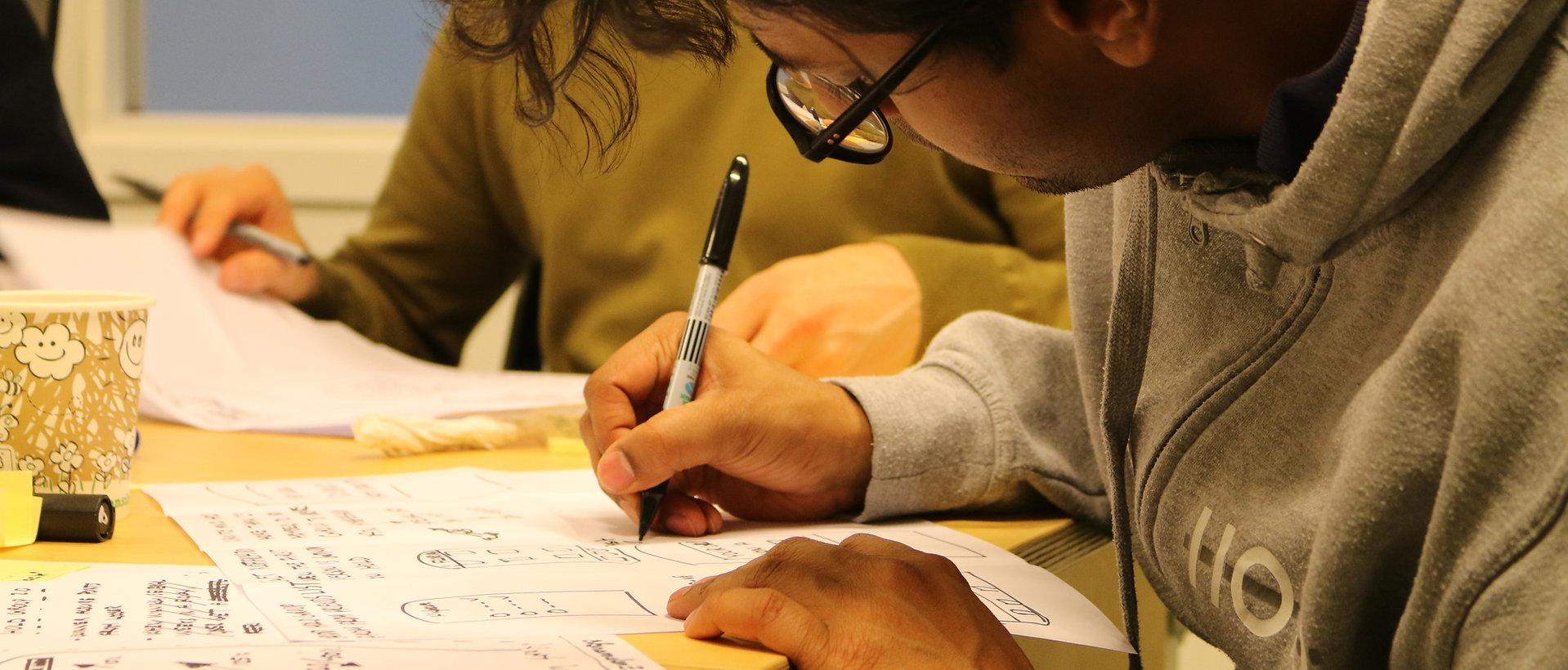 4 step sketching