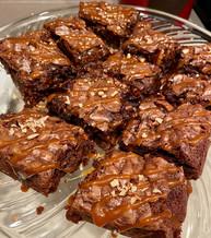 Salted Caramel Pecan Brownies