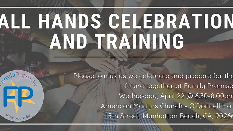 All Hands Celebration and Training