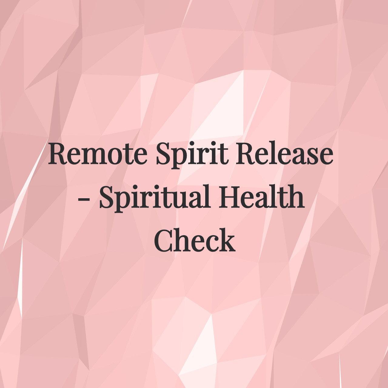 RSR - Spiritual Health Check