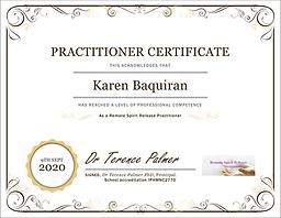 RSR Certificate Karen Baquiran