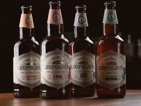 Leopoldina em 4 versões: conheça as cervejas da imperatriz