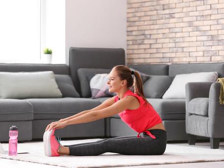 Alimentação e exercícios em casa: como manter a rotina