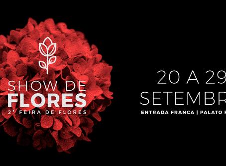 2ª edição da feira Show de Flores marca o início da primavera