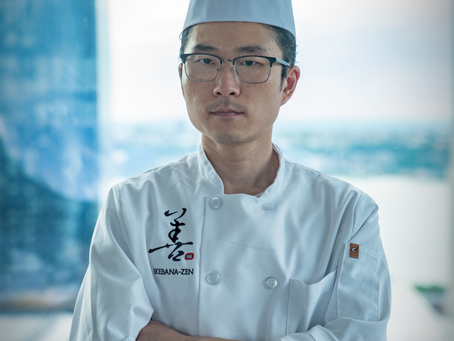 Fast craftsman spirit and high confidence in skill call for the ultimate service by Head Chef Mou
