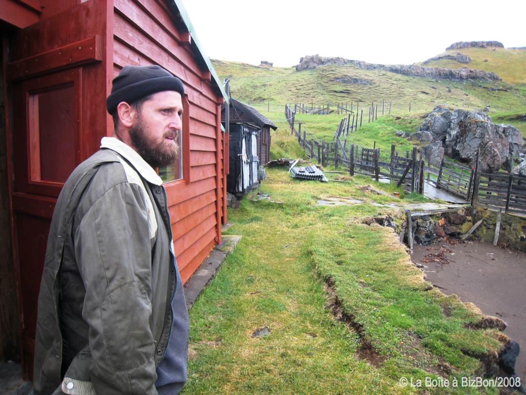David Grangette, berger de Kerguelen