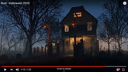 Rust Halloween House For Sale $10 lifetime ownership
