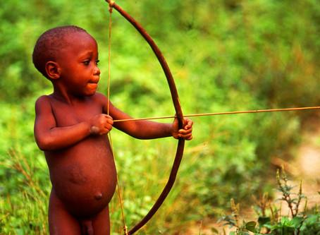 写真展「森の民ピグミーの世界から」