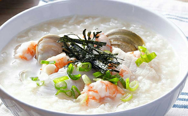Seafood Congee