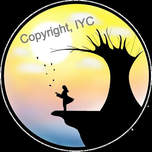 Cliffside View Sticker