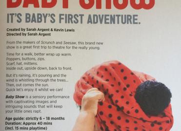 Baby Show - Unicorn Theatre