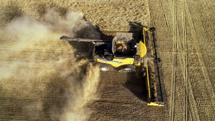 2020 New Holland CR9.90 Drone Photo