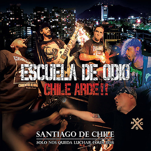"""DVD """"Chile Arde"""""""