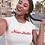 Thumbnail: Miss Hottie T-Shirt (Red Font)