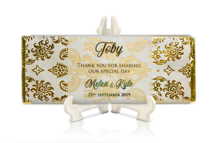Gold Foil with Vellum