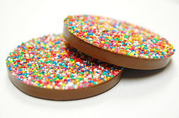 Large Round Chocolate Freckle