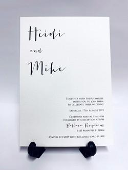 Heidi & Mike