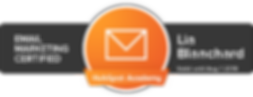 HubSpot Academy Email Marketing Certification for Lia Blanchard