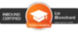 HubSpot Academy Inbound Certification for Lia Blanchard