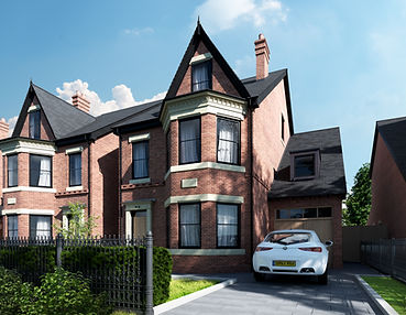 Harvey Close CGI front detached