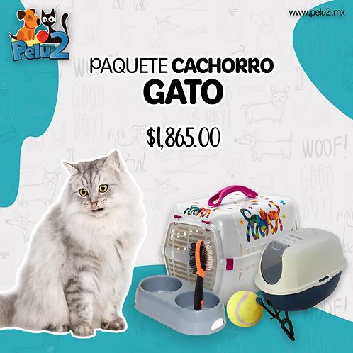 PAQUETE CACHORRO GATO