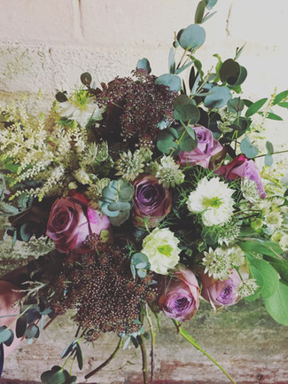bouquet of flowers example