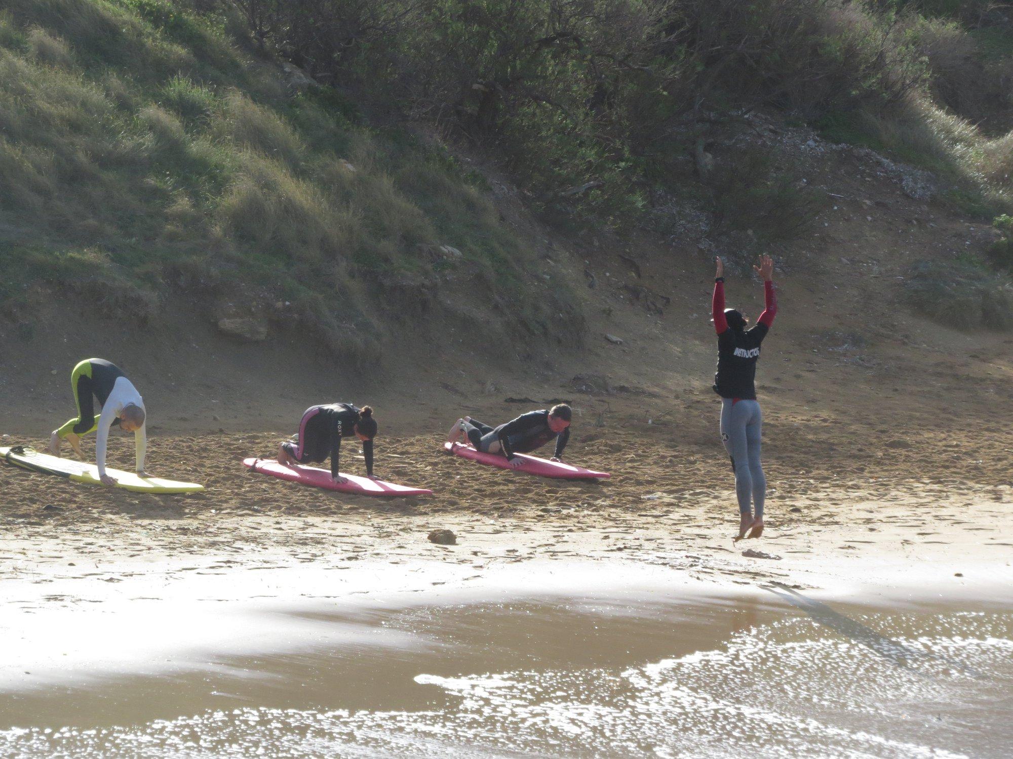 malta surf instructions