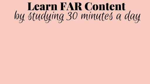 FAR Practice Questions E-book