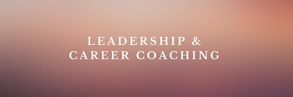Career Advice & Leadership Development