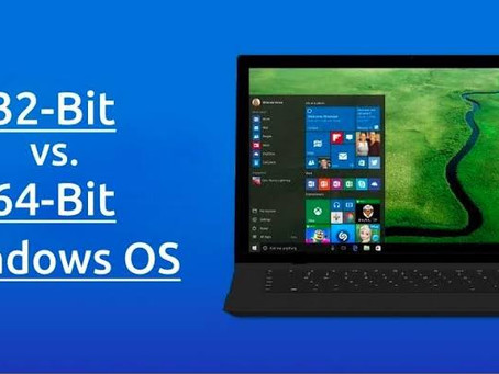 Difference between 32-bit and 64-bit operating systems