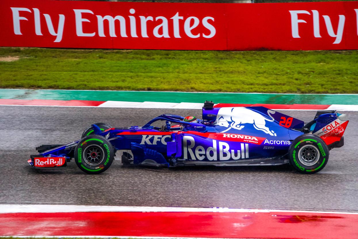 Brendon Hartley - Toro Rosso, Circuit of the Americas 2017