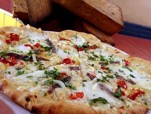 Pizza s ančovičkami