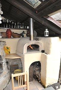 Zahradní pec na pizzu