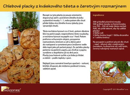 Připravte si vynikající chlebové placky v peci