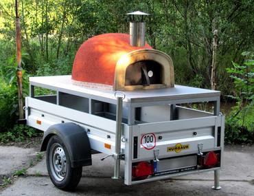 Pojízdná pec na pizzu