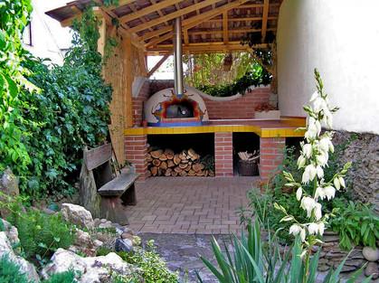 Zahradní pec na pizzu a chleba Venuše