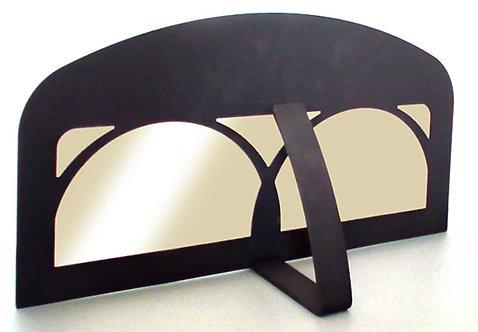Dekorativní kovová dvířka prosklená