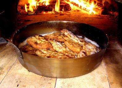 Řízky z pece