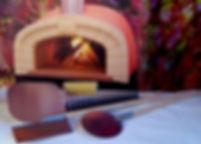 Sada nářadí pro pec na pizzu