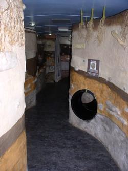 Crawl through tunnel for children