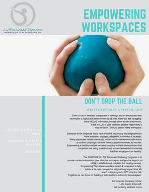 Empowering WorkSpaces: Don't Drop the Ball