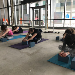 Corporate Wellness Deep Stretching with