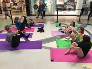 Vaughan Mills Kids Yoga Fun